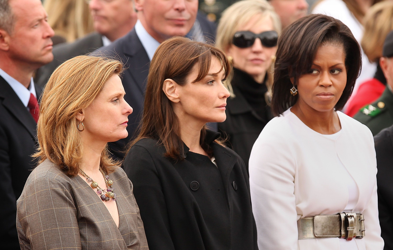 Michelle Obama többször bizonyította, hogy villámokat tud szórni a szemével