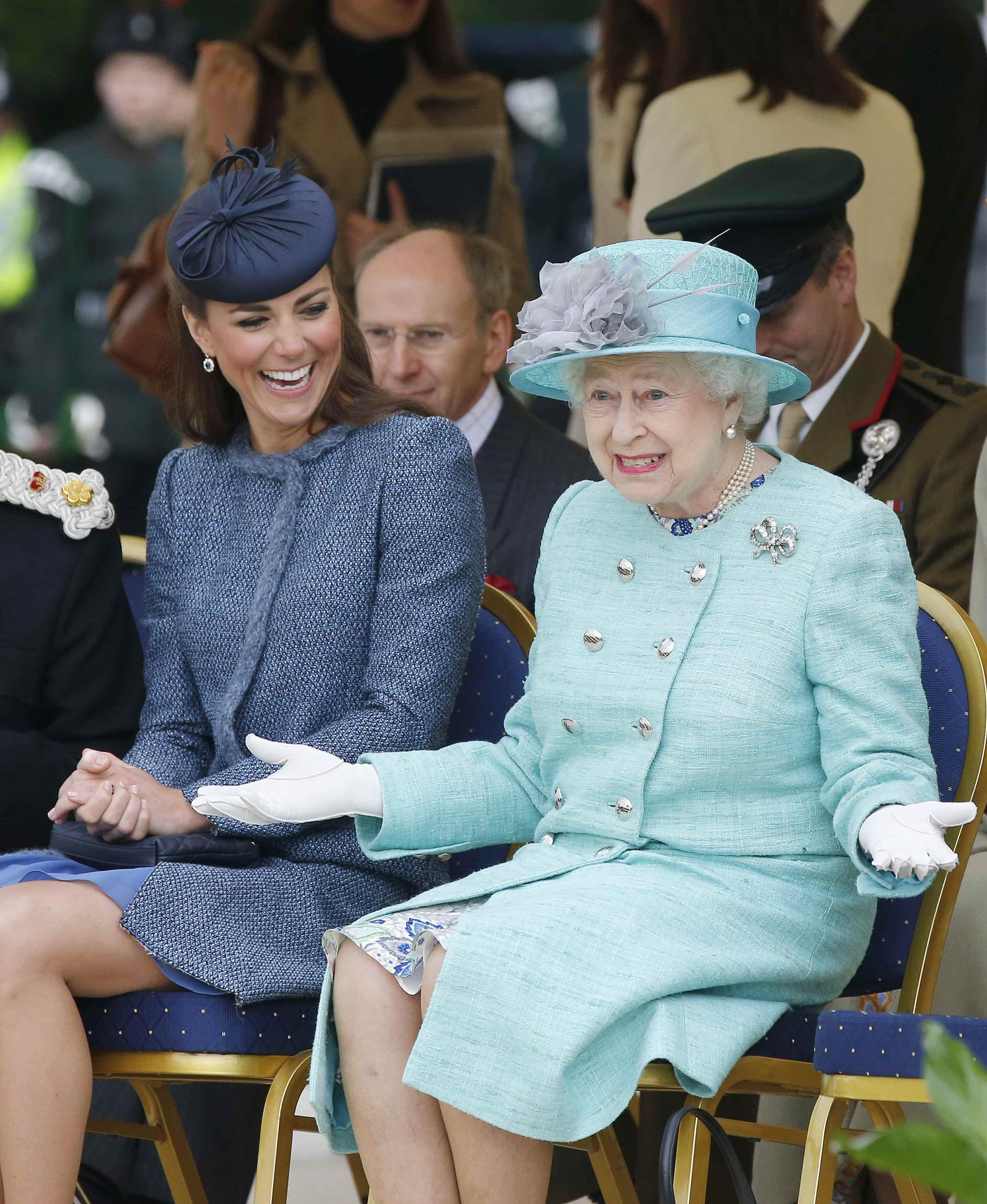 II. Erzsébet is nagy mókamester