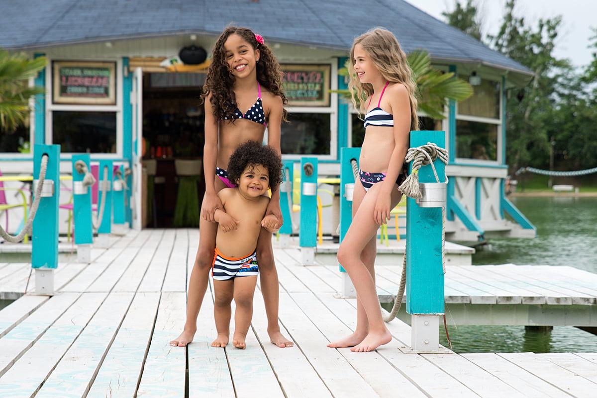 A gyerekeknek is akadnak már magyar dresszek - a Coco Bana márka minden korosztályra gondol! <br />Fotó: @cocobana.swimwear
