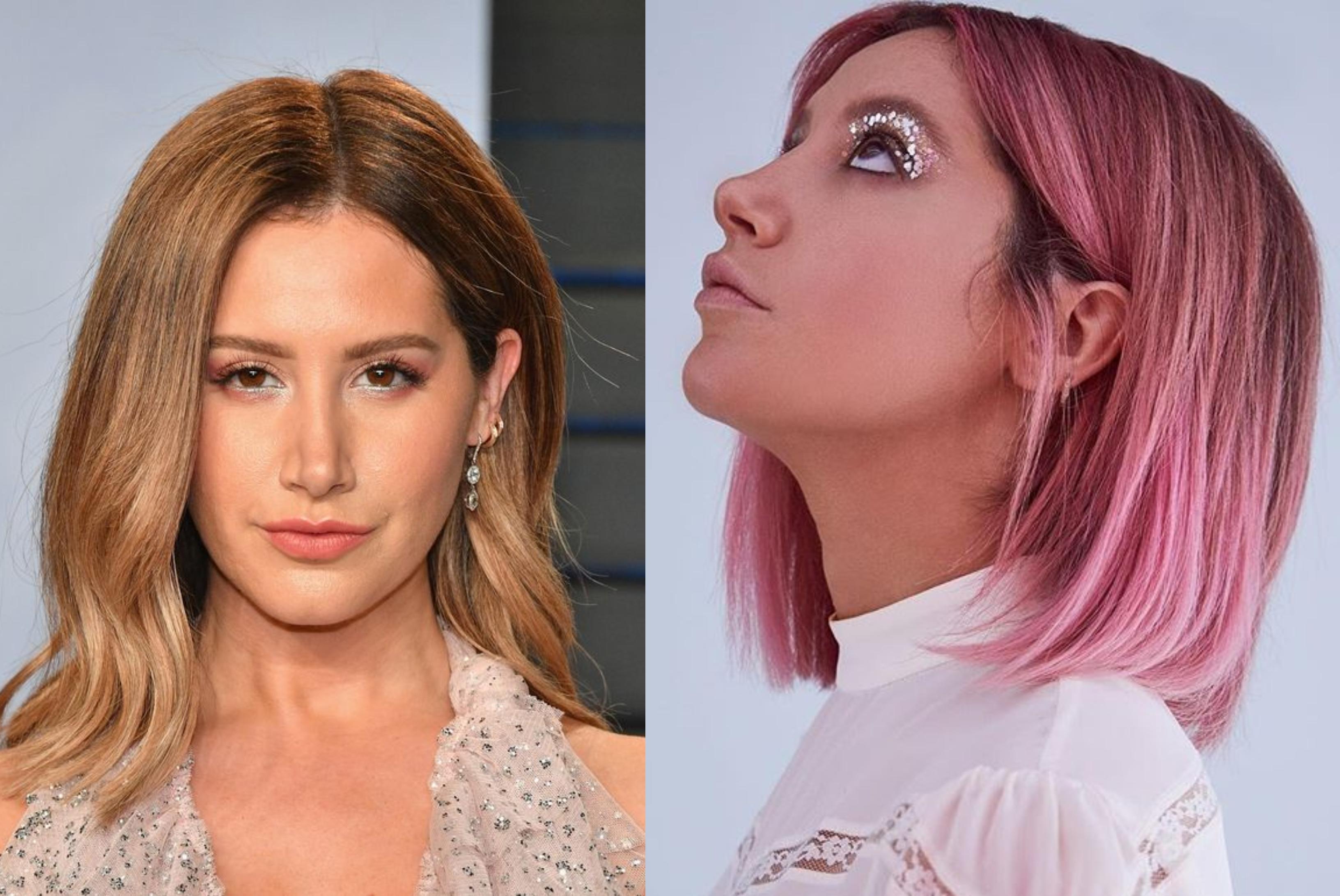 Ashley Tisdale színésznő is nagy változáson ment keresztül idén