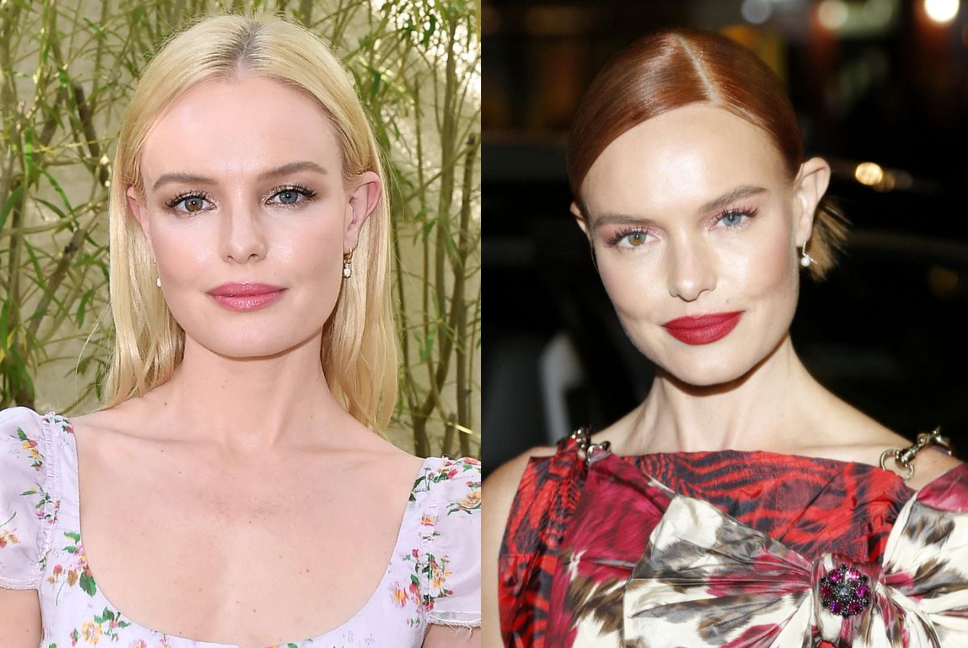 Kate Bosworth szőke tincseit már nagyon megszoktuk, de a vörös is gyönyörűen illik a bőréhez