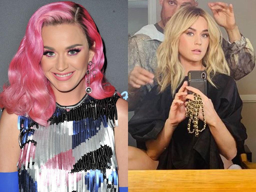 Katy Perry szintén kipróbálta magát szőkén a vad pink után