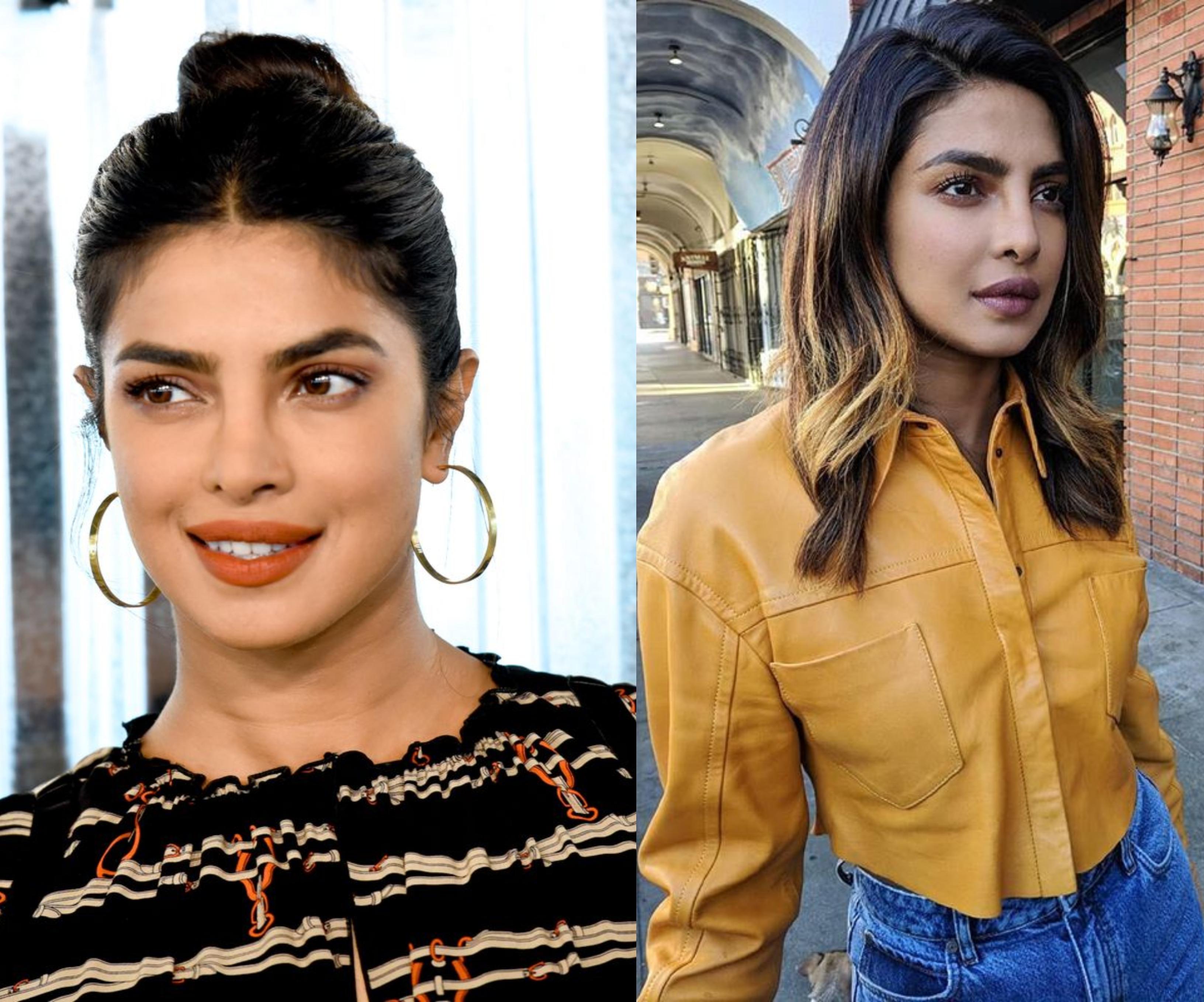Priyanka Chopra Katalinhoz hasonlóan highlightokkal tűzdelte a haját