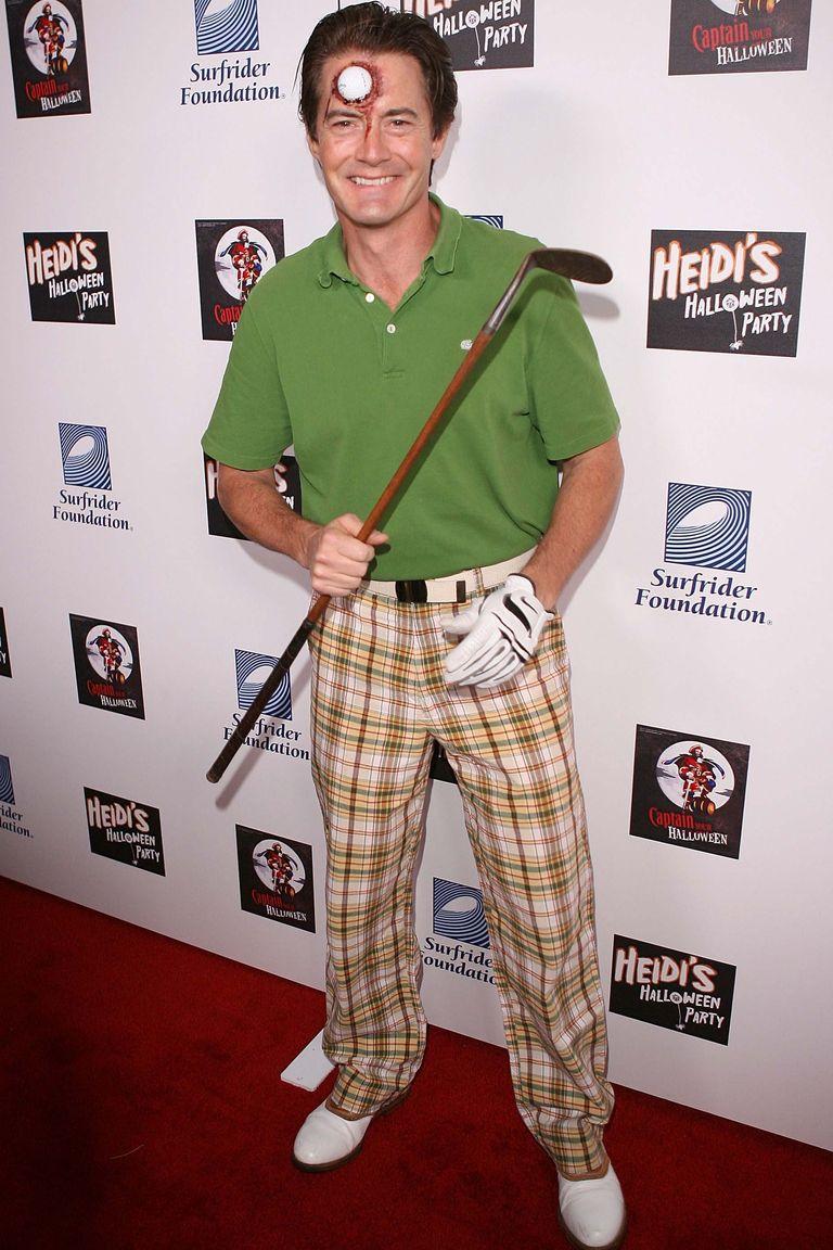 Kyle MacLachlan egy golfbaleset áldozata lett...