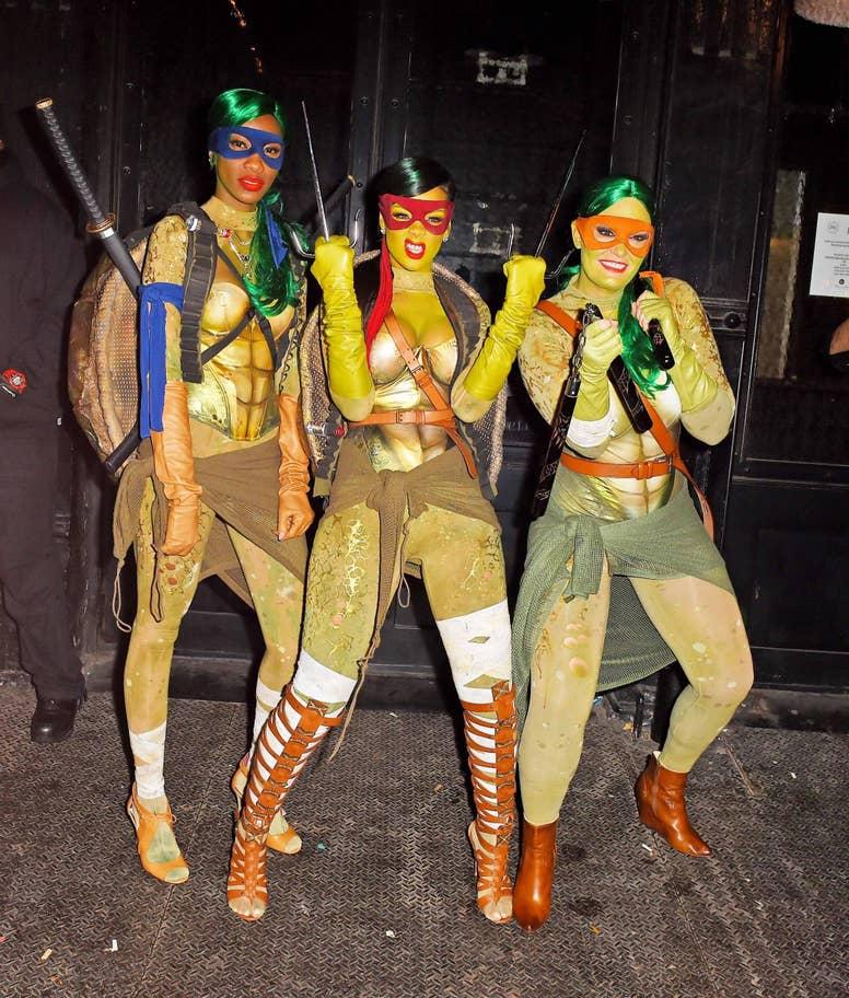 Rihanna Tini ninja teknőcként