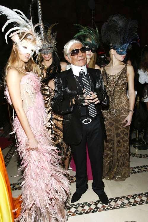 Roberto Cavalli mint Karl Lagerfeld