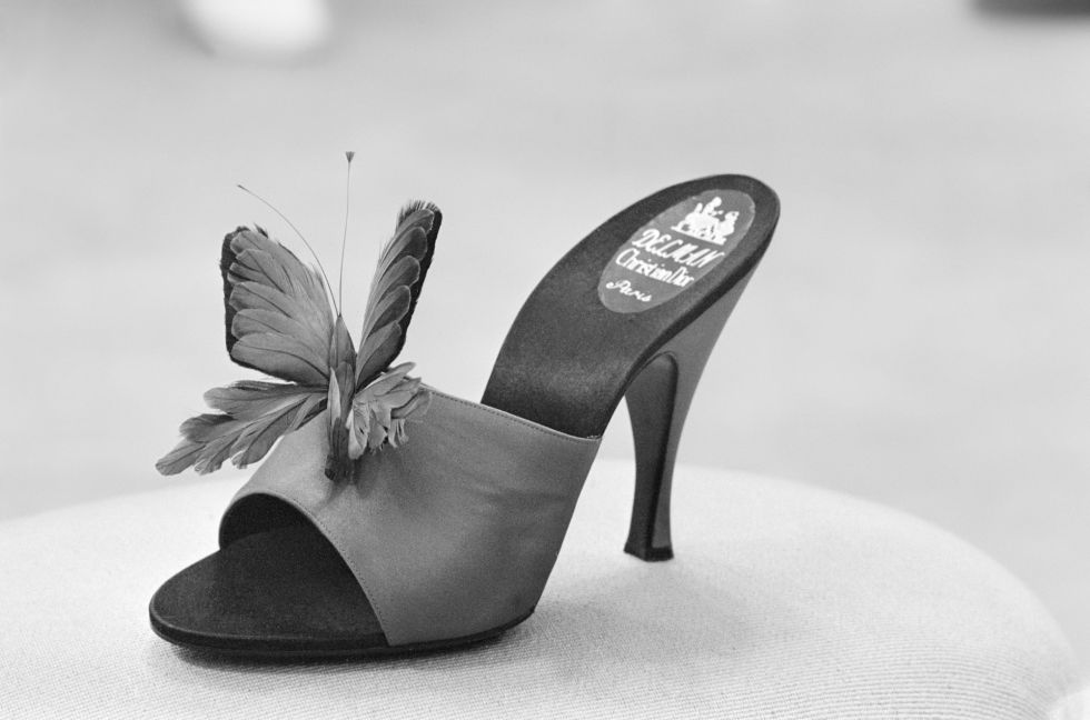 Egy pillangós csoda - Roger Vivier for Christian Dior 1955-ből