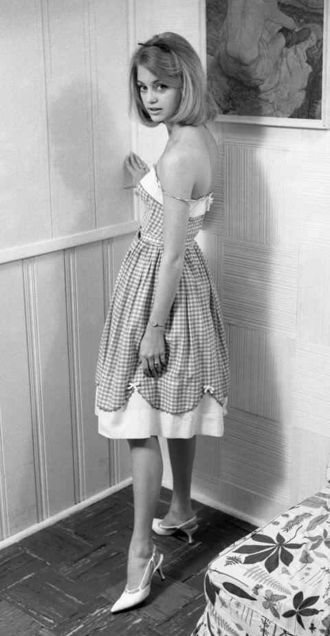 Goldie Hawn szupercuki volt 1963-ban, és ez a pántos cipőjére is igaz!