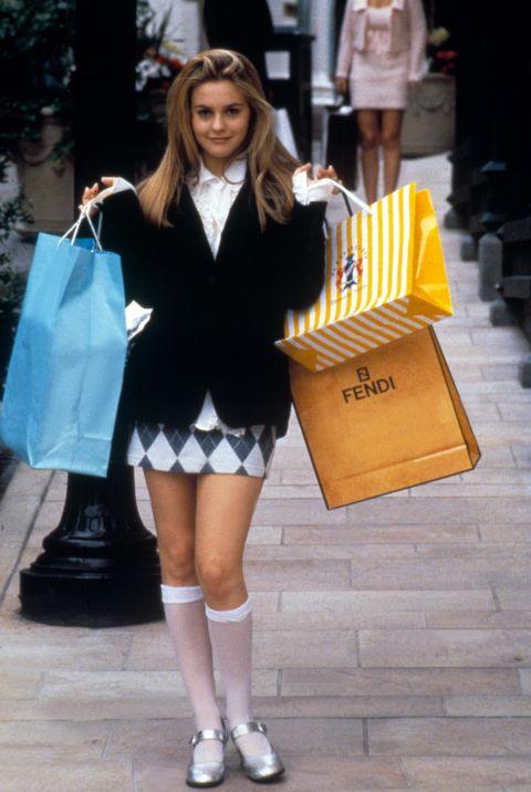Alicia Silverstone és Mary Jane fazonú cipője a Spinédzserek című filmben, amelynek a mai napig fantasztikus a stylingja