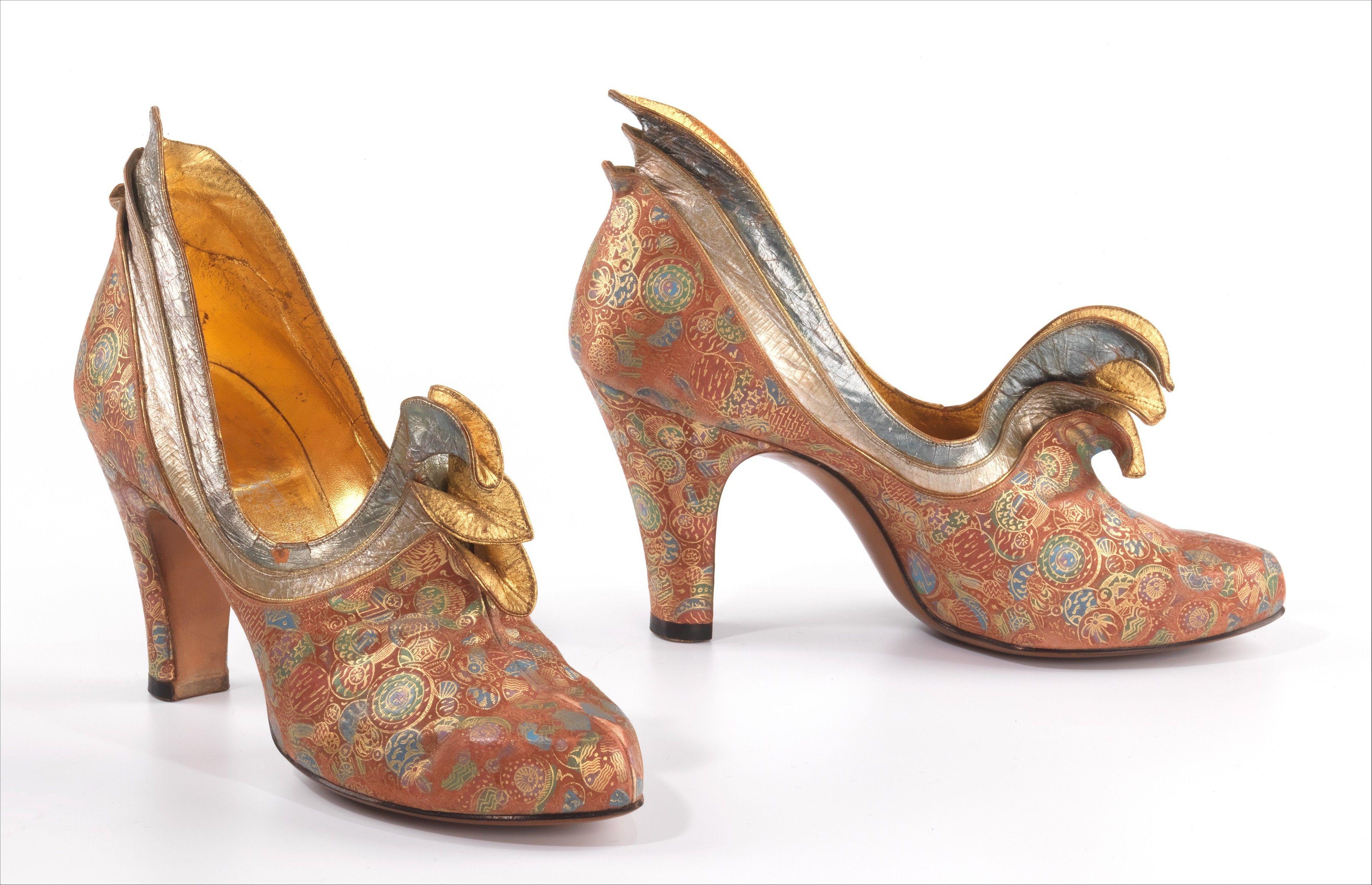 Steven Arpad francia cipődesigner fantasztikus cipőálma 1939-ből