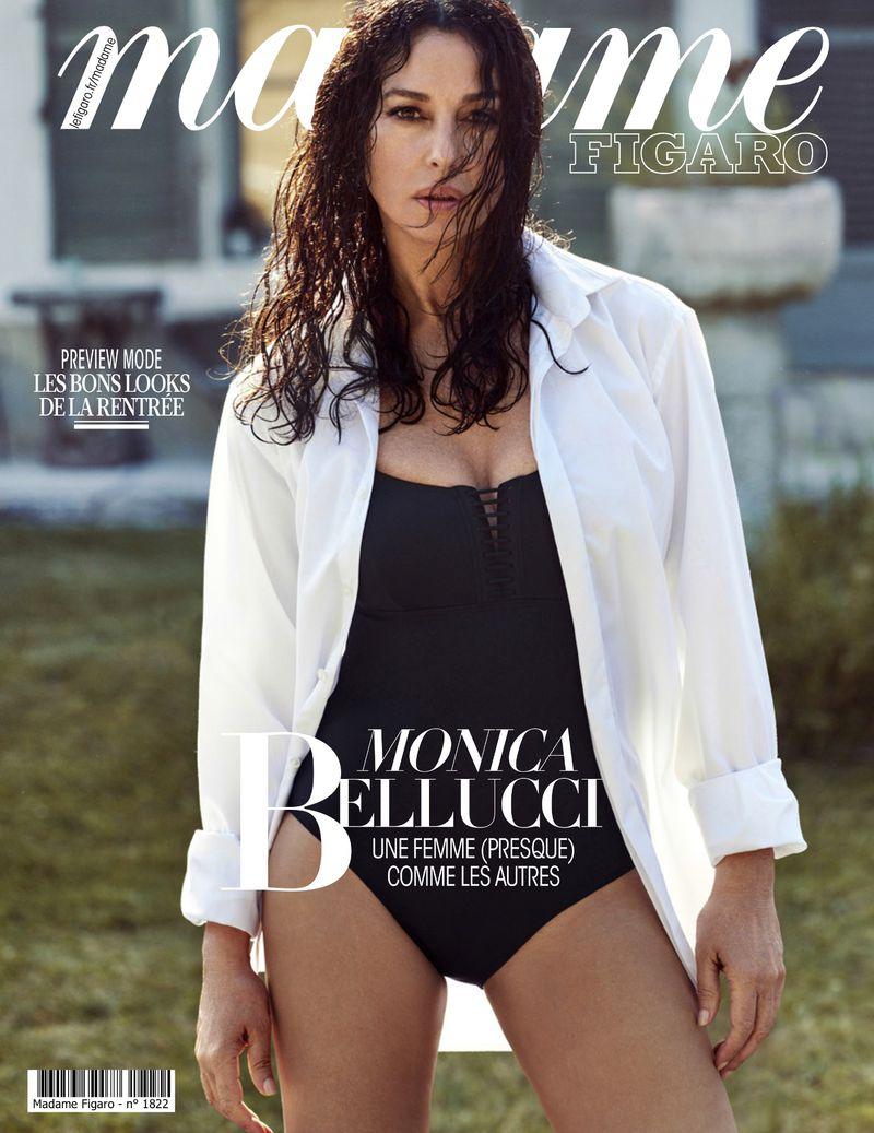 Az 54 éves, még mindig lenyűgöző Monica Bellucci a Madame Figaro címlapján