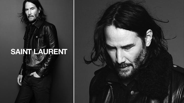 Keanu Reeves, az egyik legszerethetőbb sztár a Saint Laurent kampányában