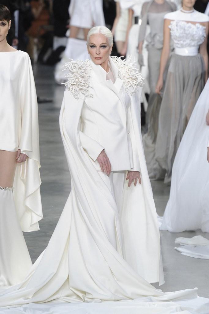 Carmen dell'Orefice, aki Dali múzsája is volt, a legidősebb aktív modell 88 évesen