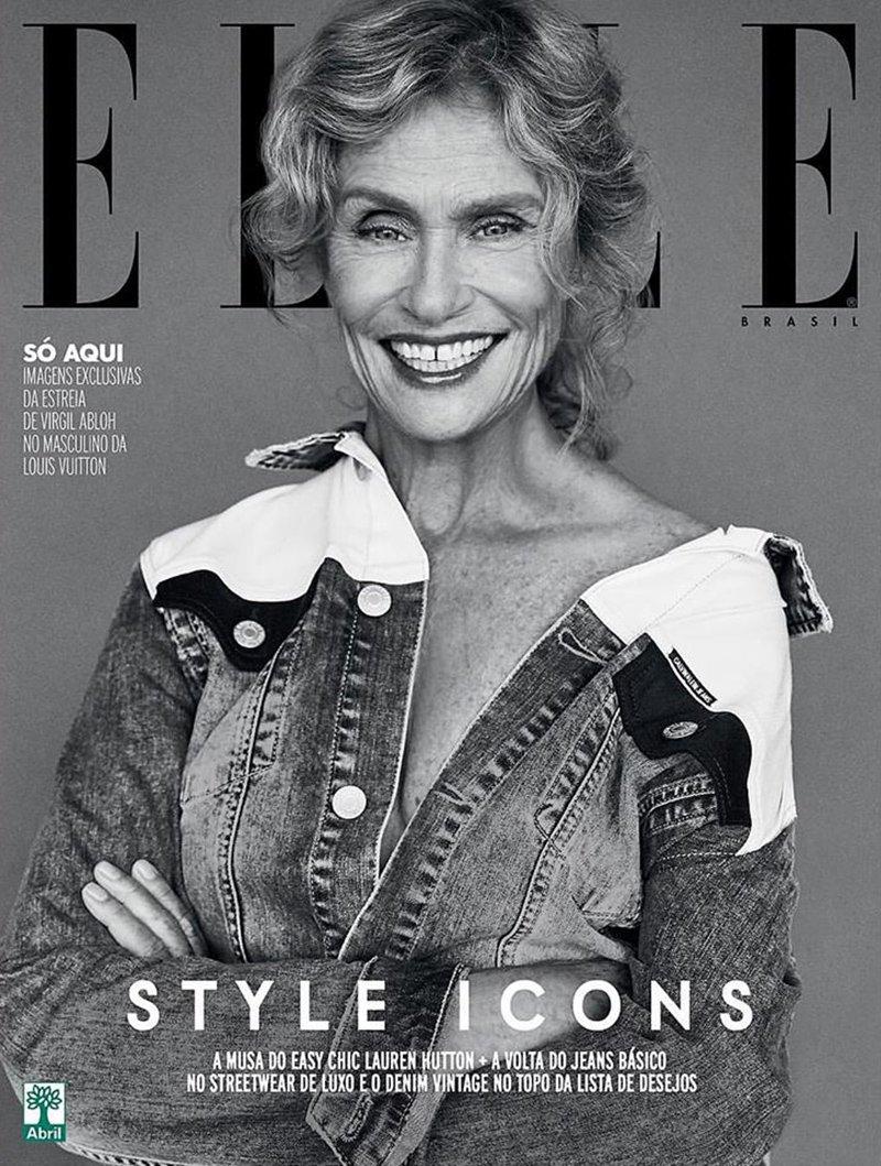 Lauren Hutton színésznő 70 felett is aktív, sőt, fehérneműmodellként is bevetették