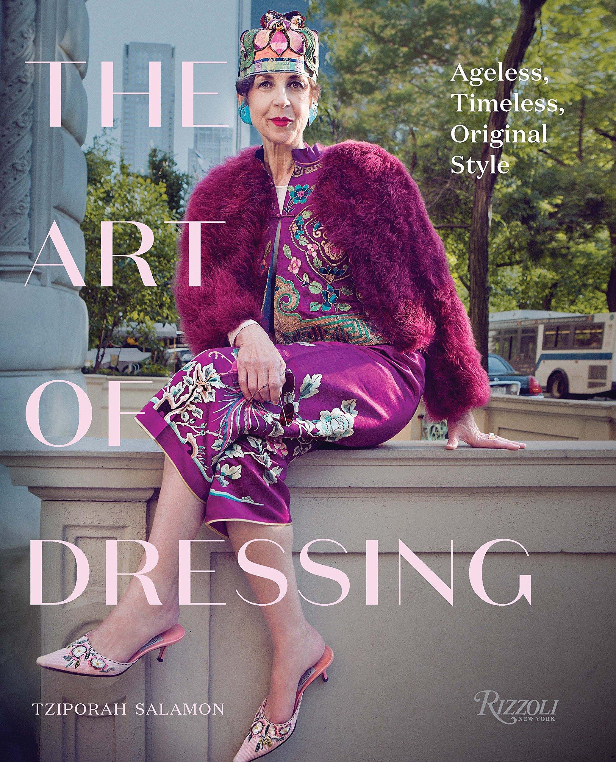 Tziporah Salamon, a csodálatos ruhafüggő hölgy, akivel New Yorkban interjúztam is