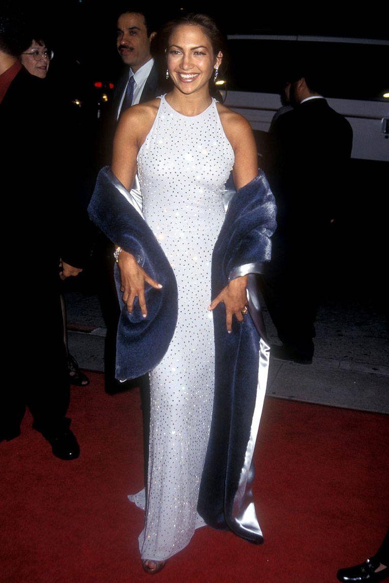 A karrierindító Selena című filmjének premierjén, 1997-ben