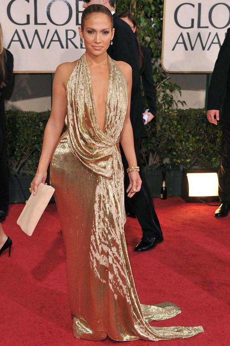 És búcsúzzunk ezzel a csodás, arany Marchesa ruhával 2009-ből