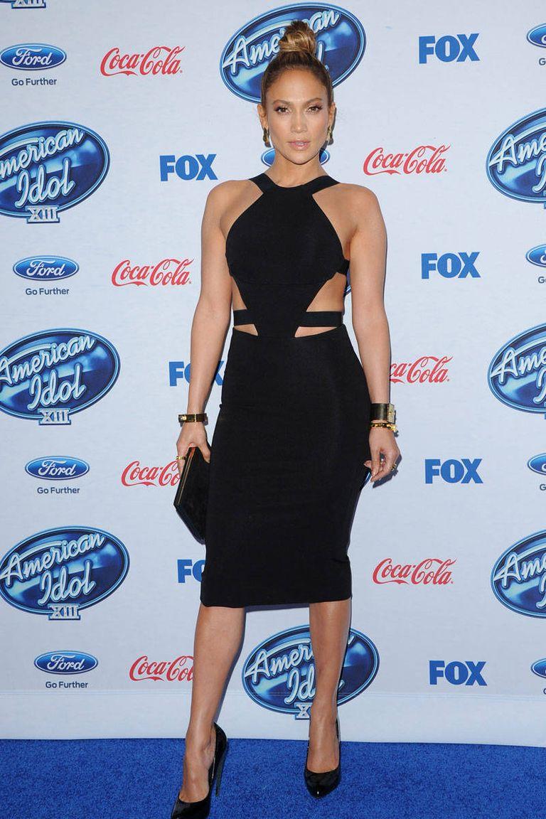 Egy irtó vagány Cushnie Et Ochs LBD az American Idol partiján