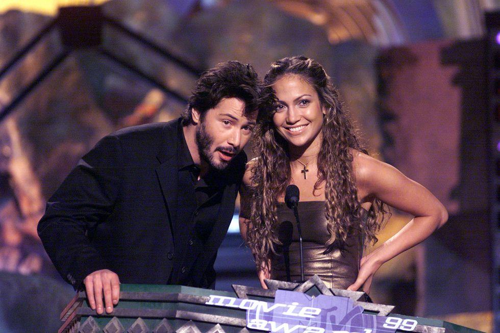 Jlo-val 1999-ben, a MTV Movie Awards-on