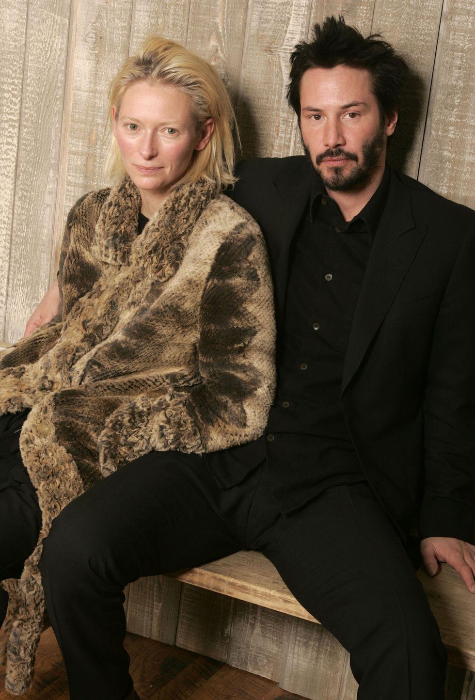 Tilda Swintonnal, akivel a Constantine, a démonvadász-ban játszottak együtt 2005-ben