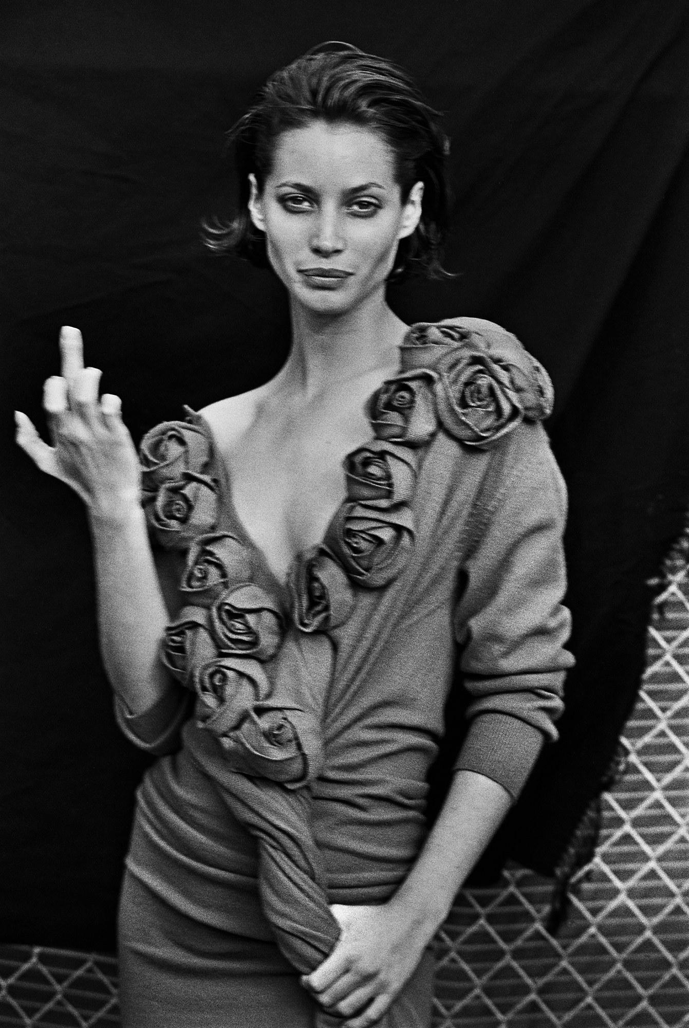 Christy Turlington - Fotó: Peter Lindbergh