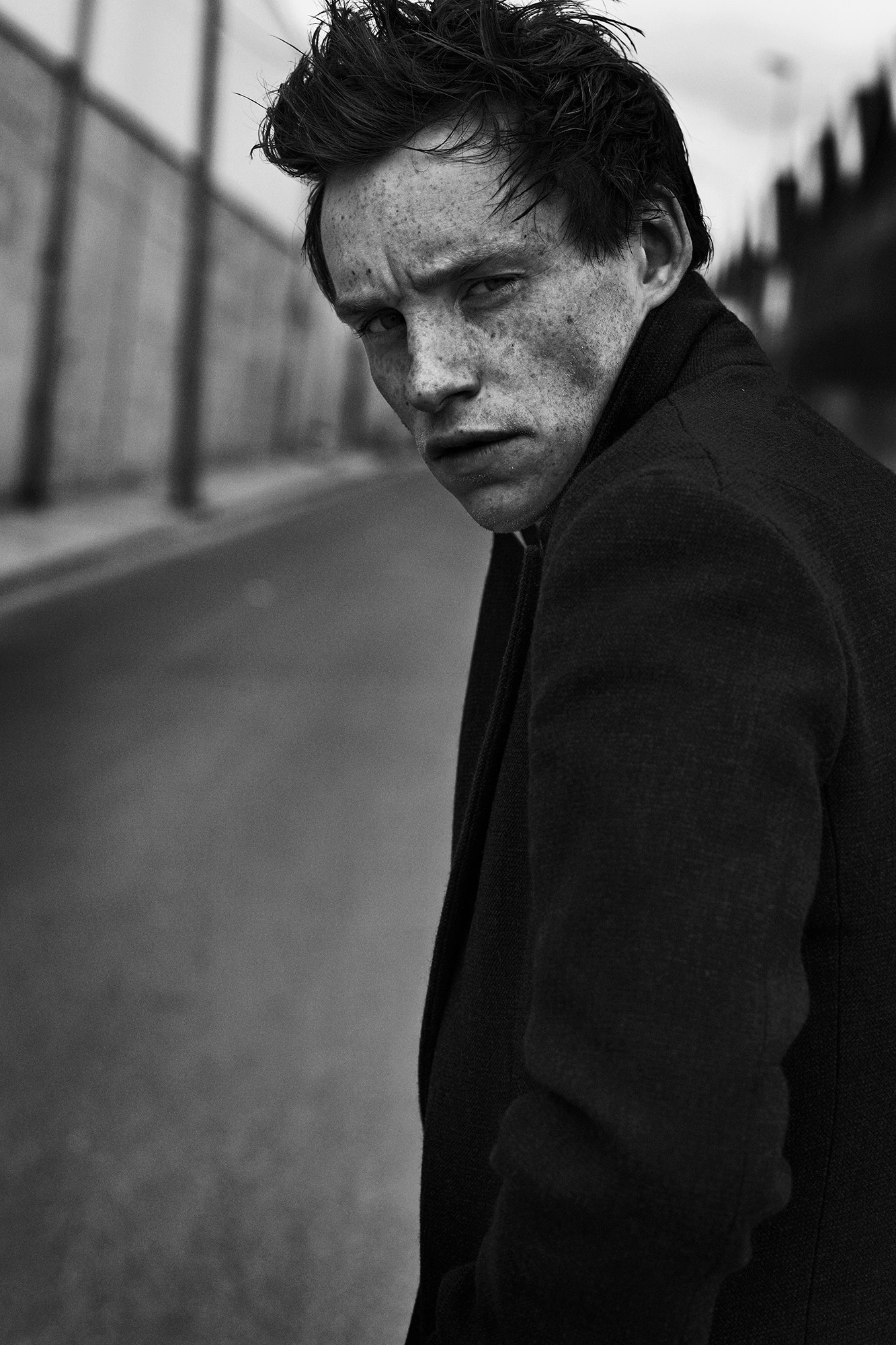 Eddie Redmayne - Fotó Peter Lindbergh
