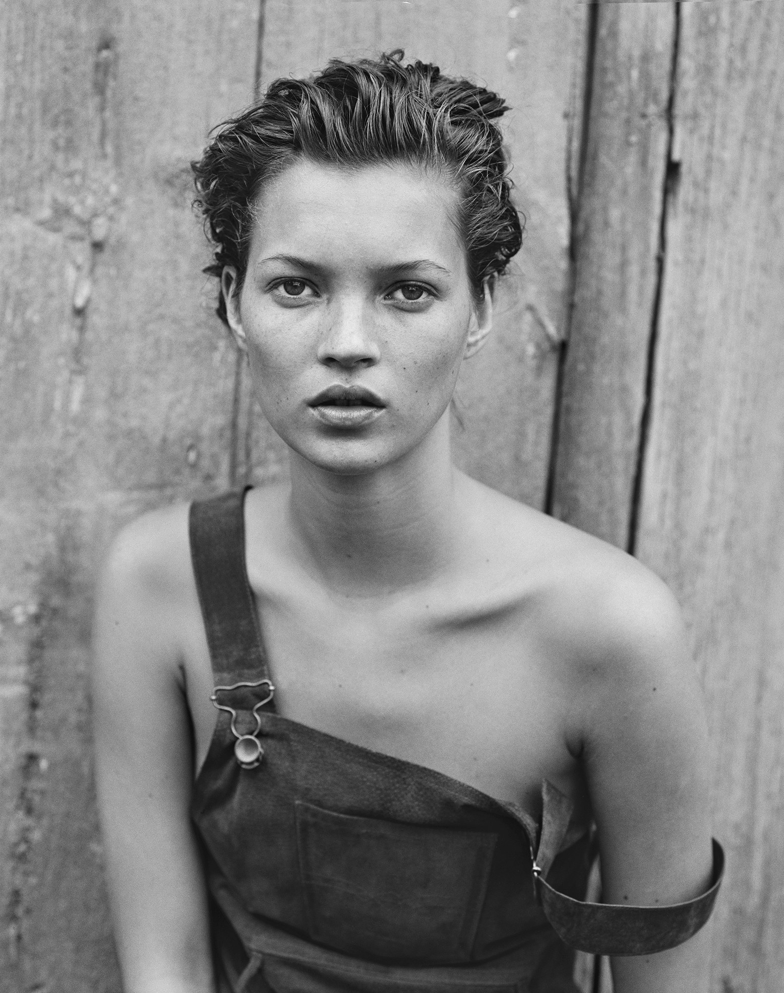 A fiatal Kate Moss - Fotó: Peter Lindbergh