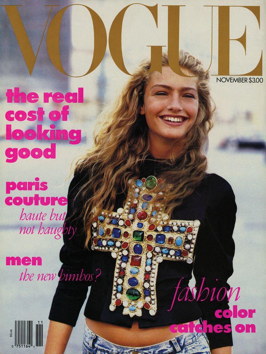 Michaela Bercu a VOGUE címlapján - Fotó: Peter Lindbergh