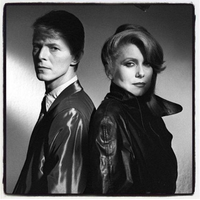 The Hunger - David Bowie és Catherine Deneuve 1982-ben - Fotó: Peter Lindbergh