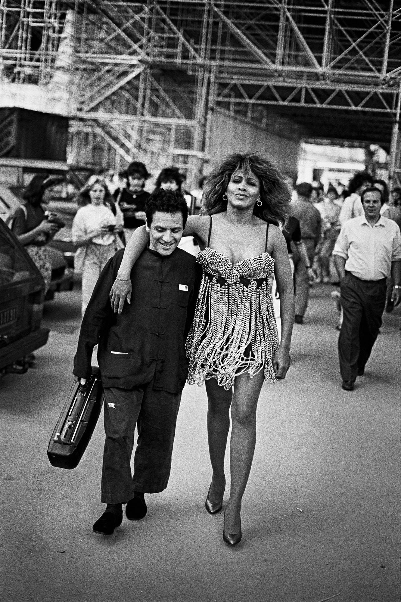 Tina Turner és az ikonikus tervező, Azzedine Alaïa - Fotó Peter Lindbergh