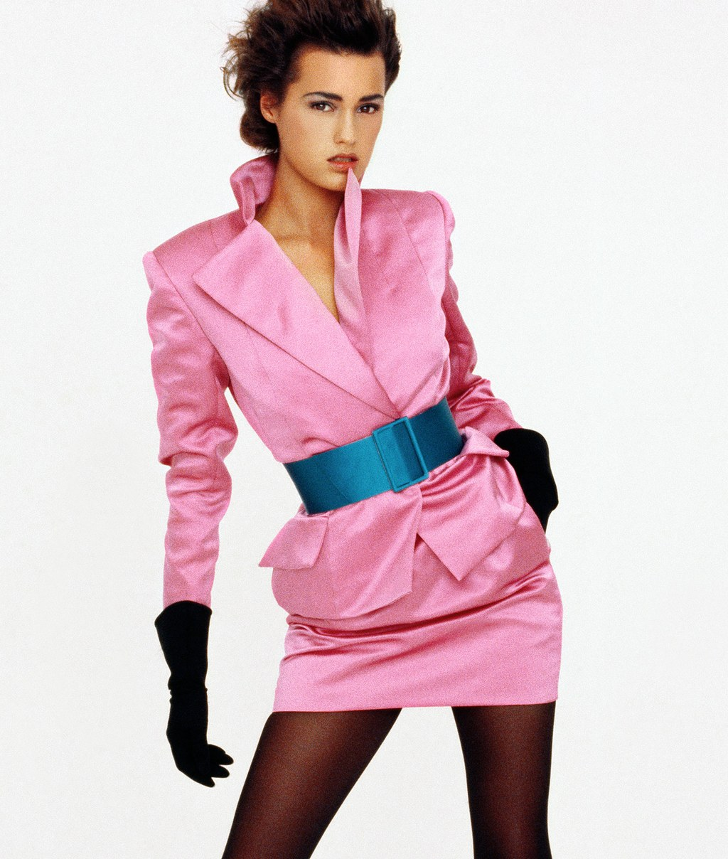 Yasmin Le Bon modell Christian Dior-ban - Fotó: Peter Lindbergh