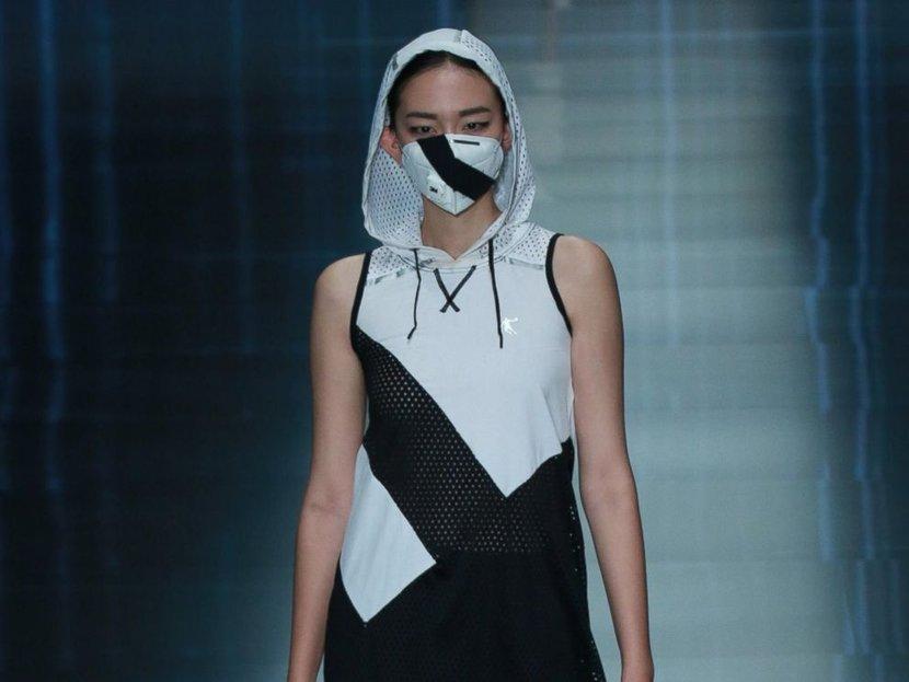 Modell a 2019-es Beijing Fashion Weeken