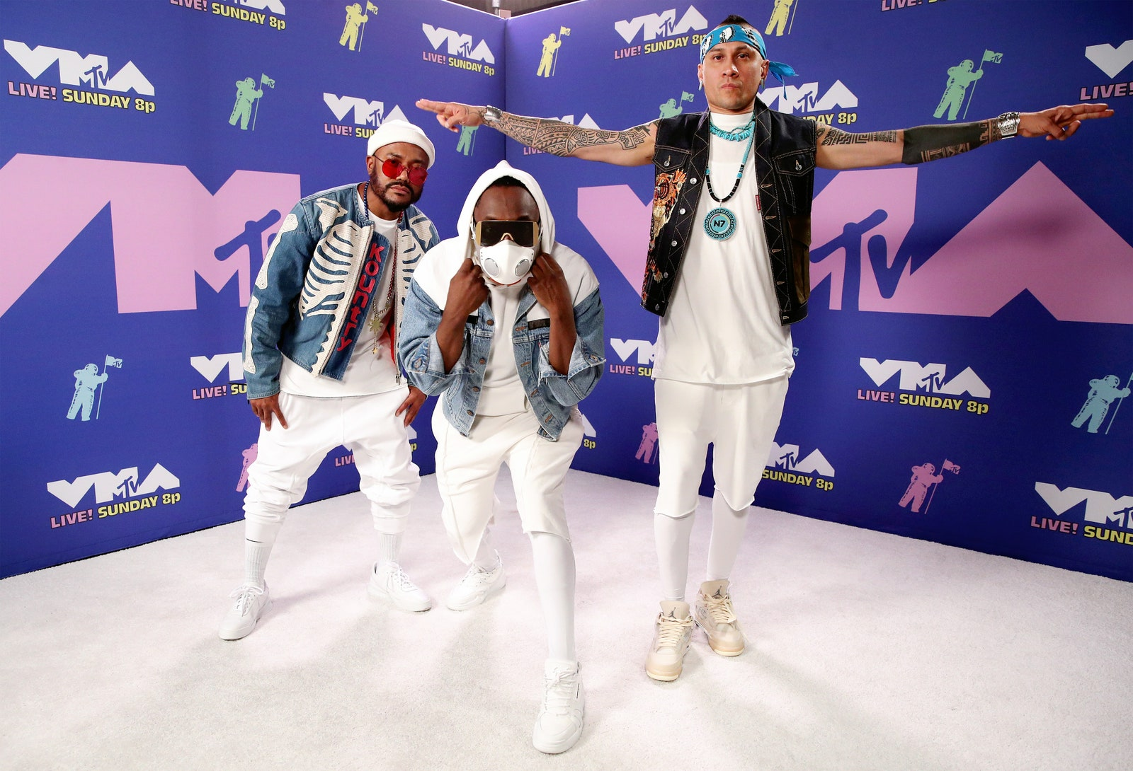 Apl.de.ap, Will.i.am és Taboo a Black Eyed Peas-ből - Getty Images for MTV