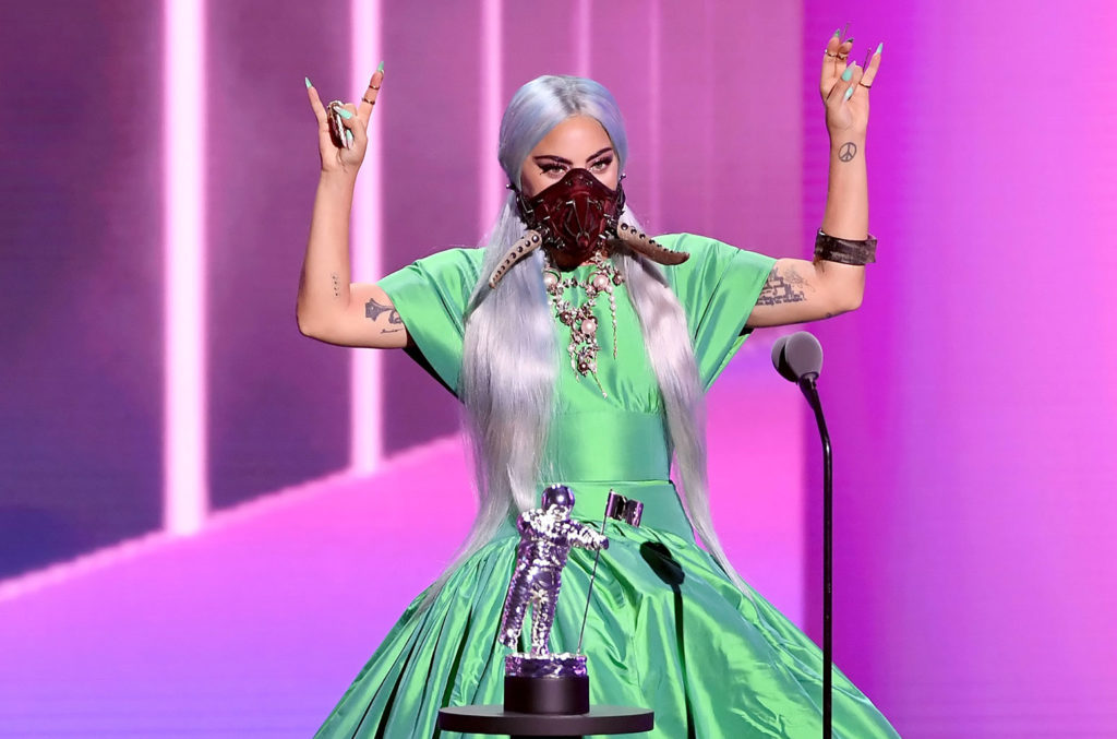 Lady Gagáé lett a Song of the Year díj a Rain on Me c. dalért - Kevin Winter/Getty Images for MTV