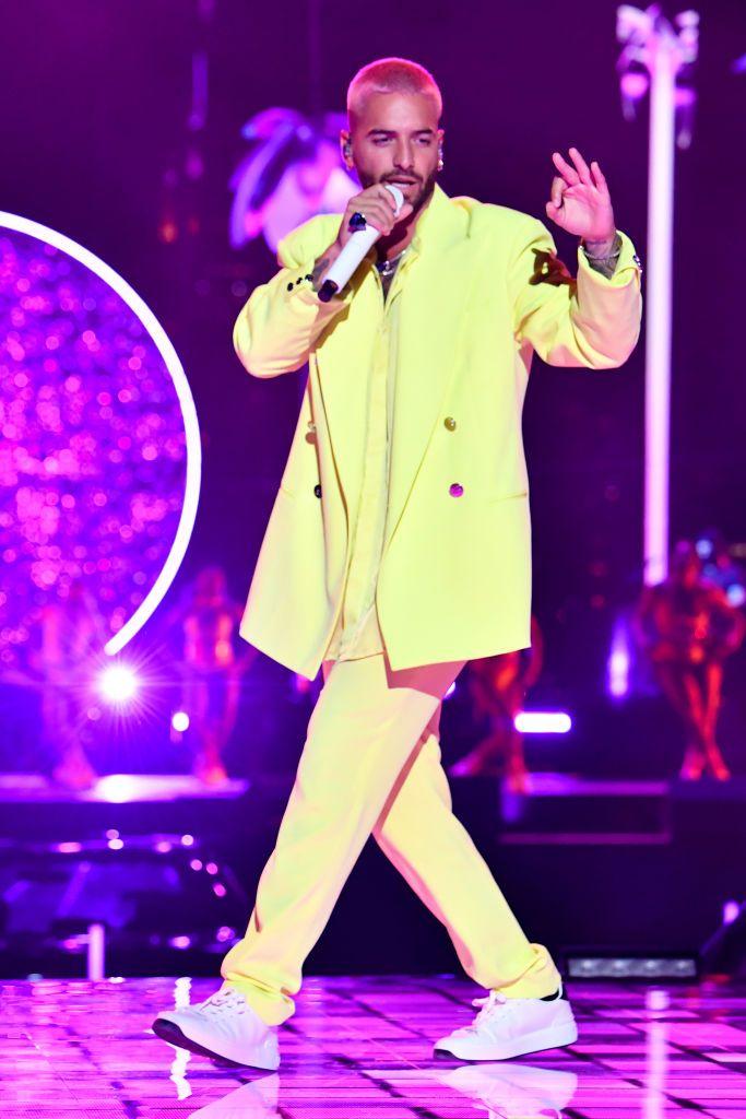 Maluma a színpadon már színesebbre vette - Jeff Kravitz/Getty Images