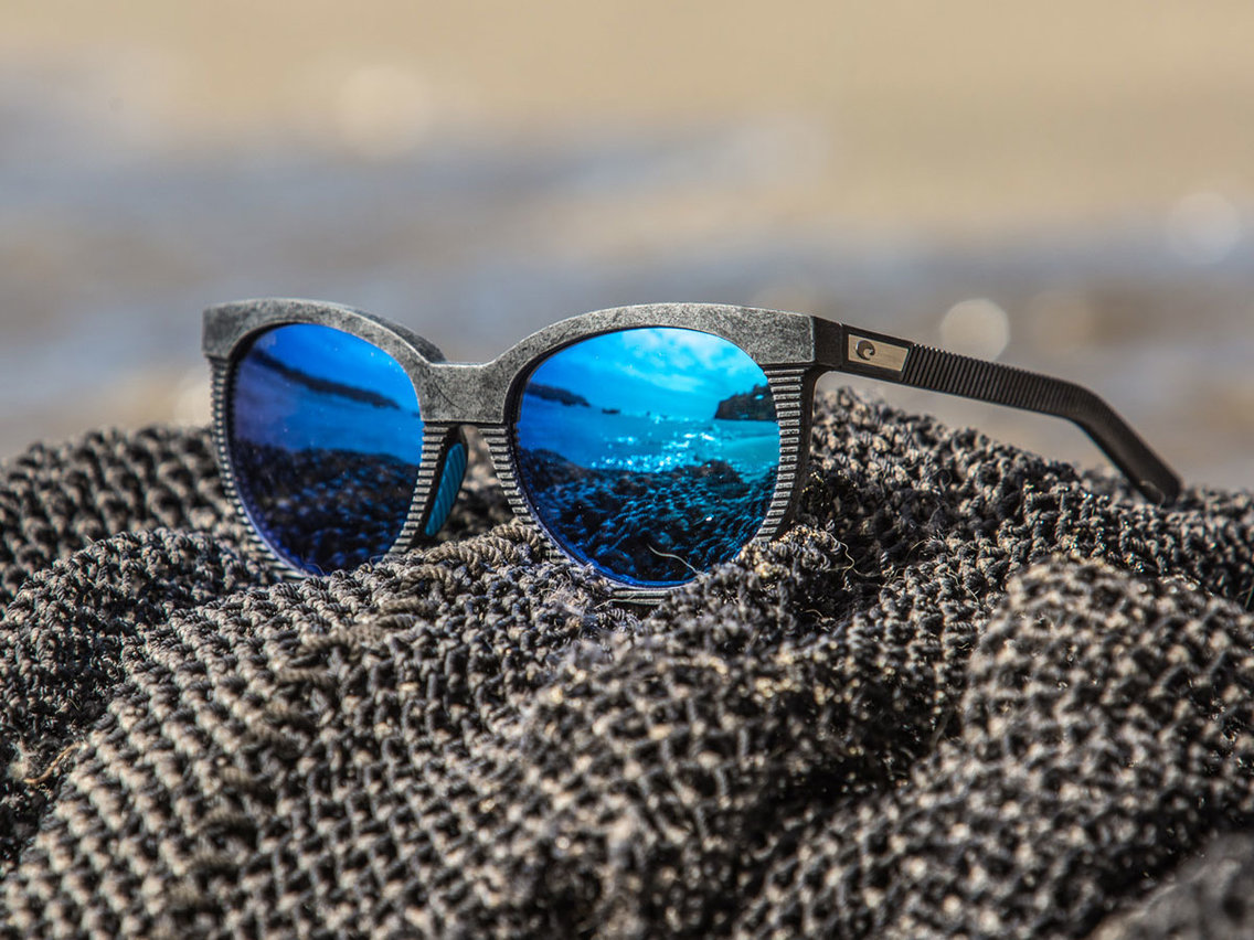 A Bureo x Costa Untangled Sunglasses hulladék halászhálókból készül