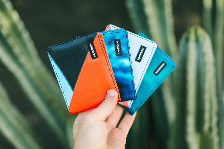 Rareform pénztárcák PVC molinókból