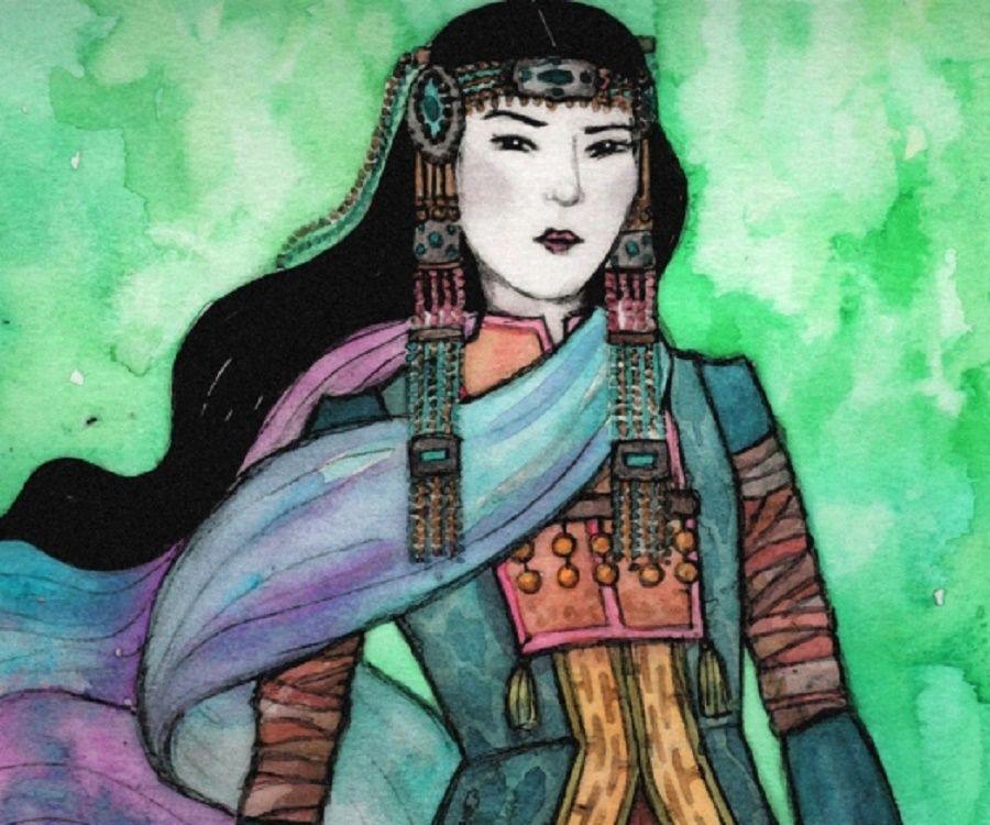 Khutulun a legenda szerint a házasságért cserébe azt kérte, a kérője győzze le őt birkózásban, ha viszont ő nyer, egy lovat kér cserébe. Végül 10.000 lóval lett gazdagabb, de férjet nem talált.