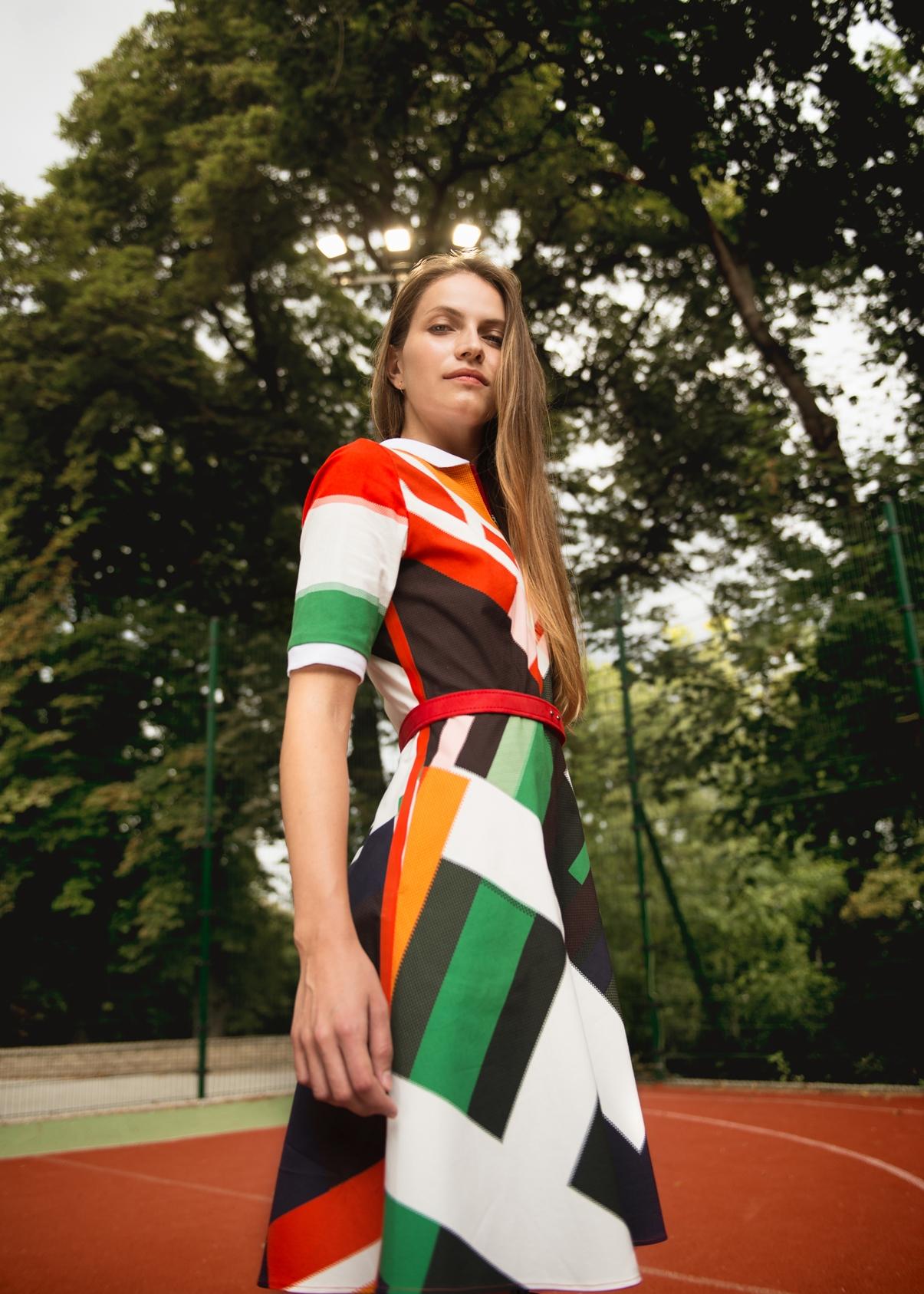 A Tomcsanyi pályamunkájának tervezéséhez a vintage olimpiai és sport poszterek nyújtották az inspirációt.
