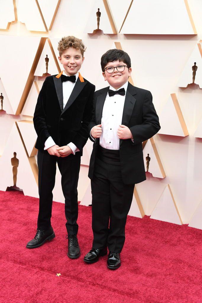 Roman Griffin Yates és Archie Yates - a mini gentlemanek!