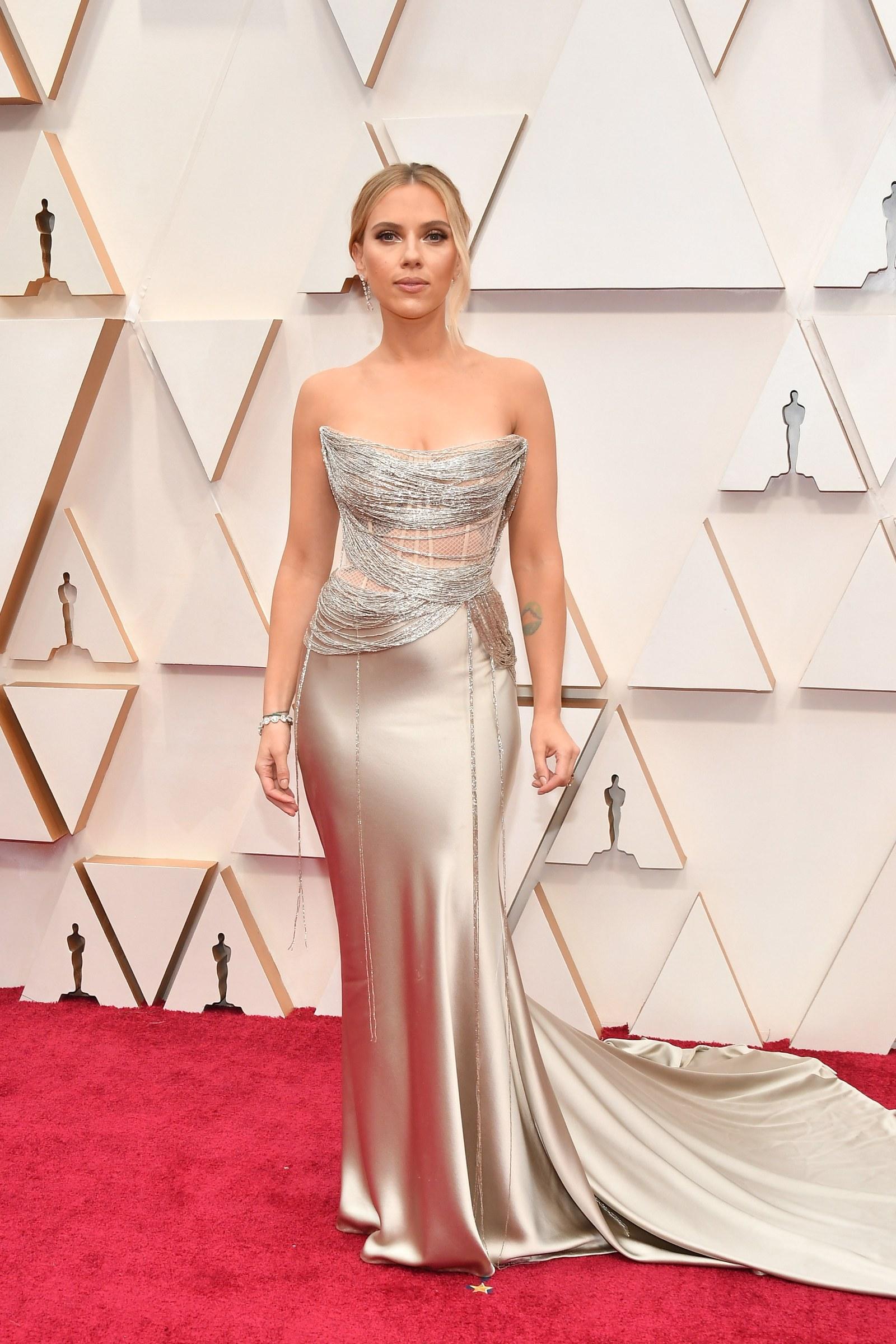 Scarlett Johansson - Oscar de le Renta