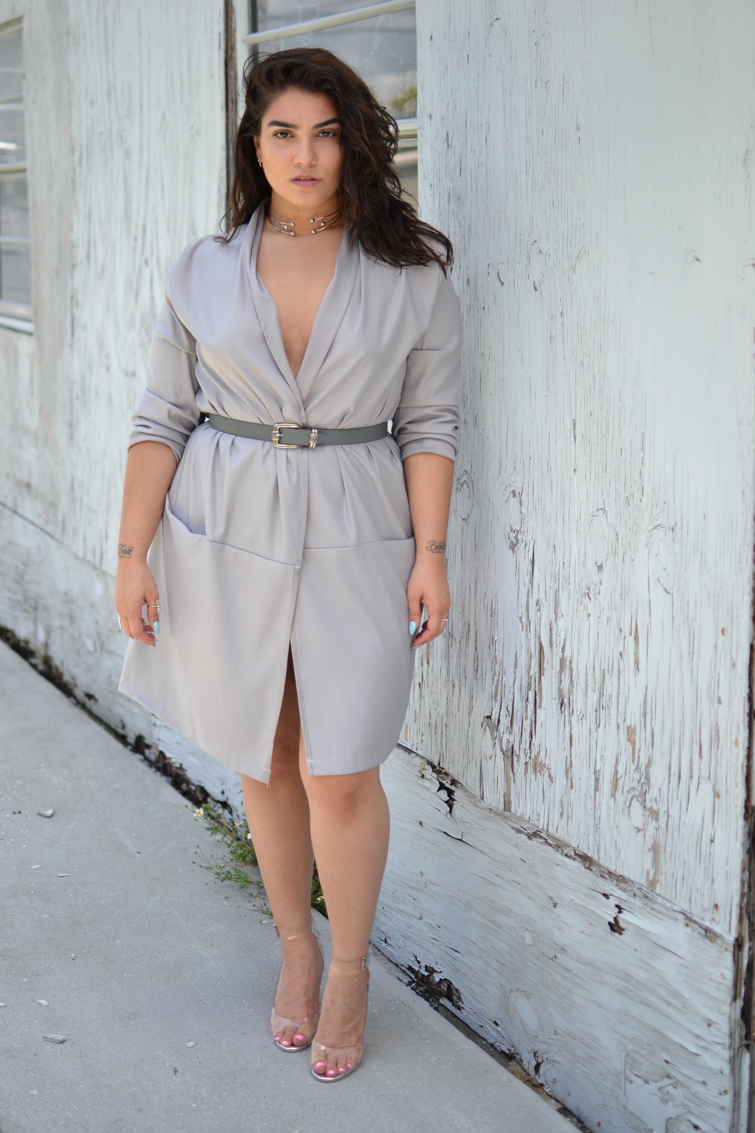 Nadia Aboulhosn a modellkedés mellett saját plus size márkát is indított