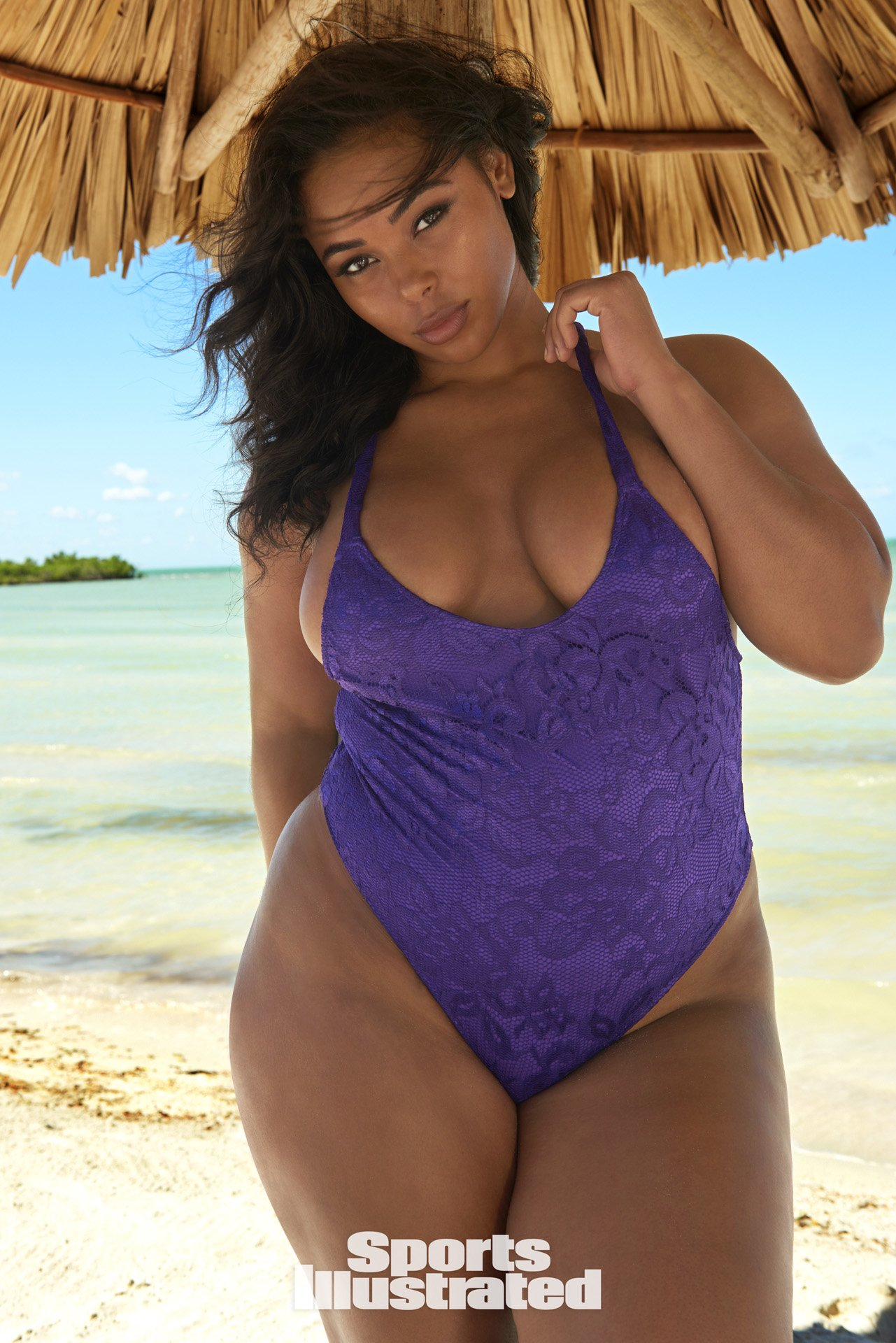 Tabria Majors modellt Belize-ben fotózta a Sports Illustrated magazin - Fotó: Yu Tsai