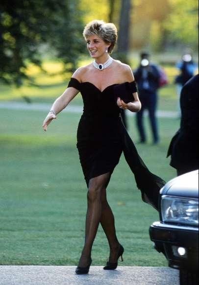 Diana hercegné a válása után egy merész ruhában