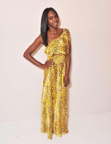 Keisha Omilana a 2012-es NYFW-en