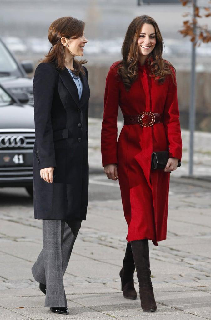 Klónok! Gyakran mondják Katalinra és Mária dán királyi hercegnőre, hogy nagyon hasonló a stílusuk