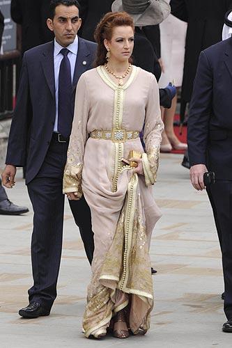 Lalla Salma Katalin hercegné és Vilmos herceg esküvőjén