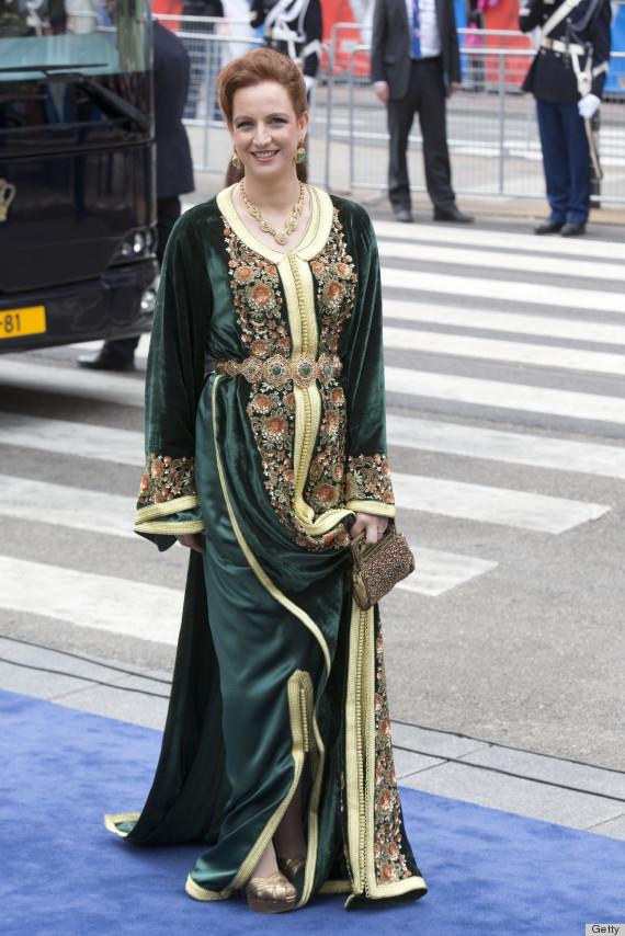 Lalla Salma marokkói hercegnő 2013-ban, Amszterdamban 2