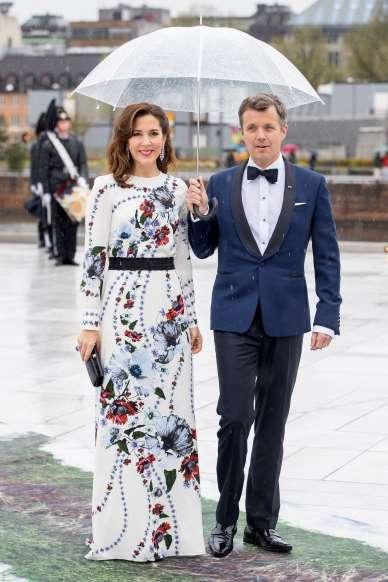 Mária dán királyi hercegnő a férjével