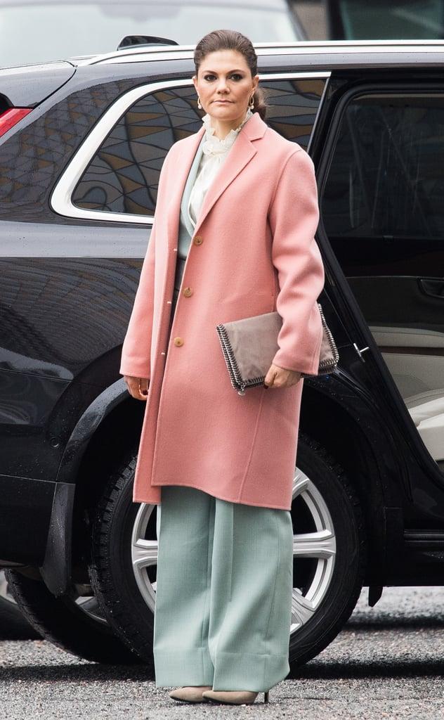 Victoria hercegné sikkes pasztell szettben